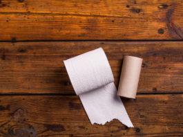 Trabajar con papel higiénico para hacer manualidades