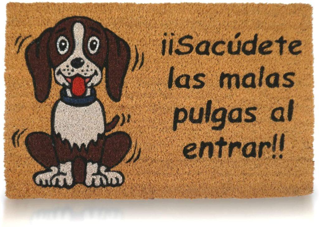 Mensaje que avisa de que hay mascota