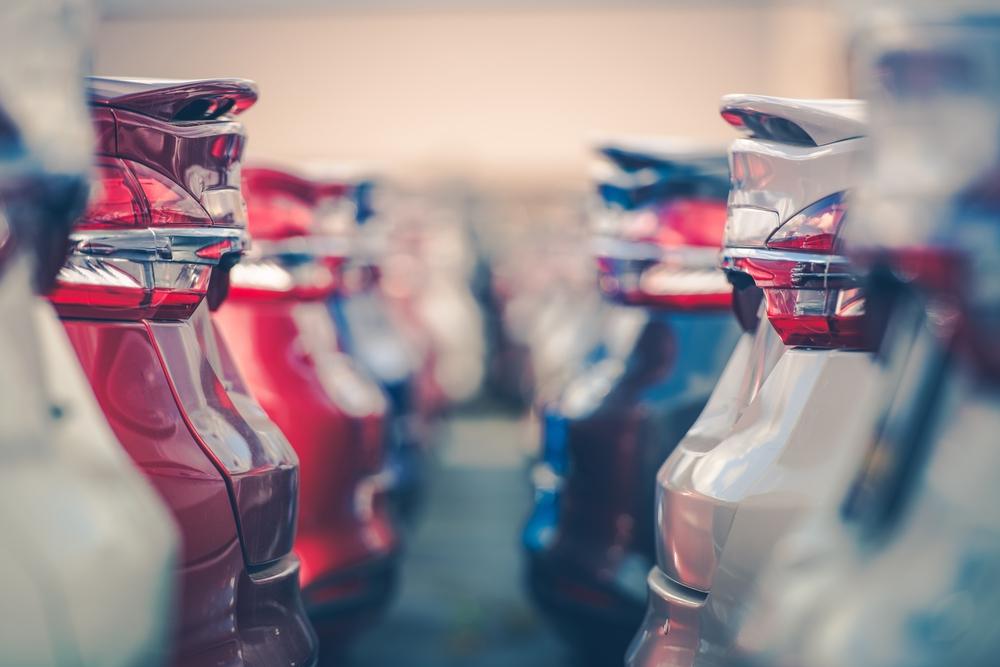 Diferentes vehiculos con una alta demanda